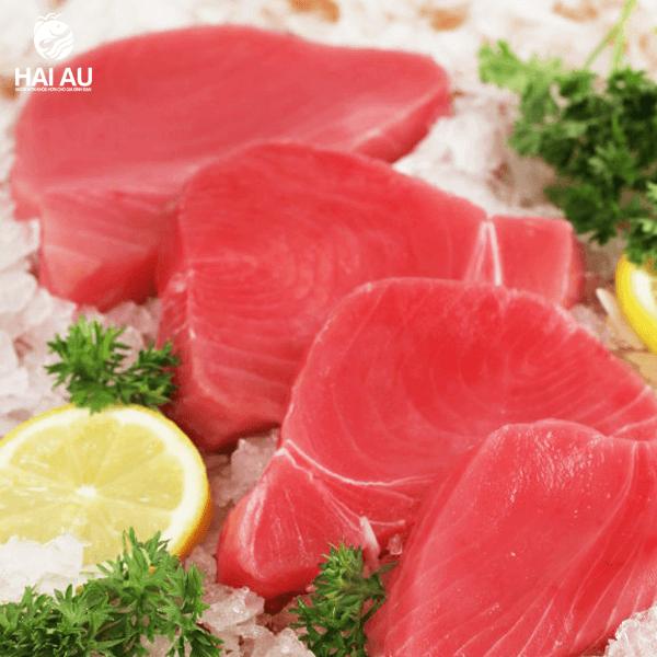 giá thịt cá ngừ đại dương hiện nay