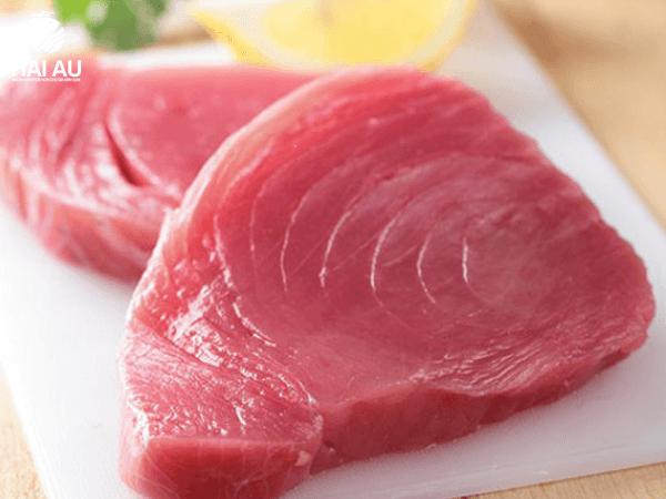 mua thịt cá ngừ đại dương tươi ở đâu